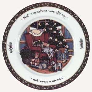 wanted: Xmas dinner set-Twas The Night Before Christmas Cambridge Kitchener Area image 3