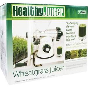Wheatgrass and leafy green juicer