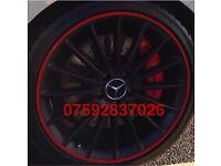 Alloy wheel protection Audi Bmw Mercedes Volvo Mini Subaru Honda Vauxhall Ford Seat Lexus Skoda Alfa