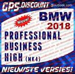 BMW 2018 Navigatie Update DVD Professional, Business, High
