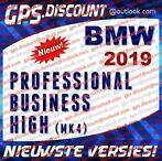 BMW 2019 Navigatie Update DVD USB Professional Business High