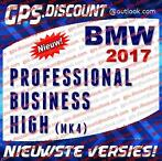BMW Navigatie Update DVD Professional, Business, High - 2017