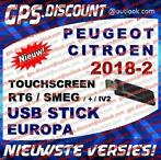 Peugeot Citroen USB Navigatie Update Connect Nav+ RT6 2018-2