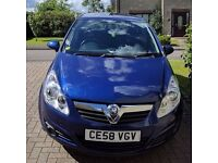 2008 Vauxhall Corsa great condition, priced to sell!
