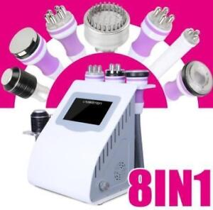 8 in 1 Cavitation Radio Frequency LED MIcro Current Machine