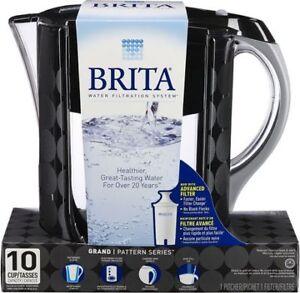 Brita Water Grand Pitcher.  Brand New. Never Open!