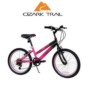 "NEW OT EVOLUTION GIRL'S BIKE 20"" OZARK TRAIL BICYCLE KIDS 107838612"