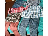 Set of 8 boys clothes 7-8.