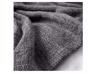Blanket Throw Gurli IKEA grey