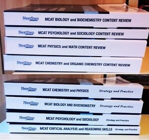 MCAT Exam Review & Strategy & Practice Full Set (8) - Brand New!