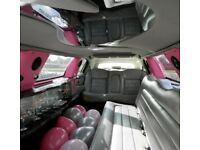 Pink Lincoln Limousine for Sale