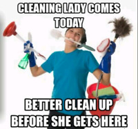 Cleaning services available in the Stirling area