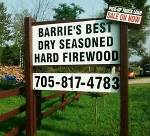 ATTENTION CAMPER'S HARD CAMPFIREWOOD SALE ON HWY 27 W.BARRIE