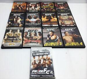 Lot de 13 DVD UFC à vendre