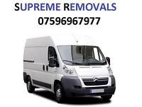 Cheap and professional man and van hire and removal services.