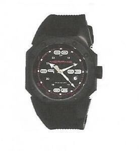 M10 Series Black Titanium  Black Silicone Men's Watch