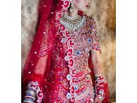 Bridal wedding lengha dress