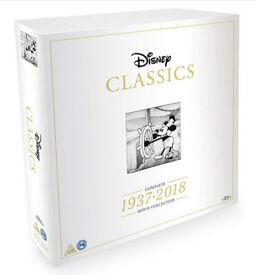 Disney Classics Complete Movie Collection 1937-2018 (DVD, 2018, 55-Disc Set)