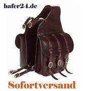 Packtaschen Leder