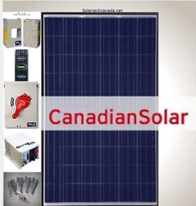 COMPLETE DELUXE 3975 WATT SOLAR PANEL HOME/COTTAGE OFF GRID WITH