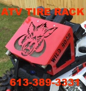 Polaris Scrambler Radiator Relocation Kit 850/1000 ATV TIRE RACK Kingston Kingston Area image 2