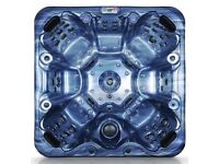 Destock UK company, Hot Tub (OLYMPE+) , SPA, Jacuzzi, 108 stainless steel jets, 7 persons