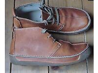 Mens El Naturalista UK size 8 tan boots very good condition