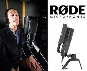 NEW OB RODE CONDENSER MICROPHONE NT-USB USB MICROPHONE MIC - AUDIO STAGE MUSIC VOCALS RECORDING 106423101