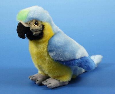 Papagei blau Plüsch Kuscheltier Plüschtier Stofftier NEU 18cm (für Pirat - Papagei Für Piraten Kostüm