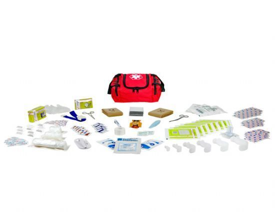 NEW FIRST AID RESPONDER EMS  EMERGENCY MEDICAL TRAUMA BAG KIT  FULLY STOCKED NEW EMT