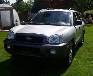 2001 Hyundai Santa Fe SUV, Crossover
