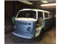 Vw bay screen camper van restoration project