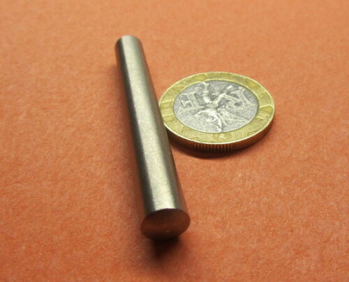 """Stainless Steel Taper Pin No 5 .289 Large End x .247 Small End x 2.00"""" L, 5 Pcs"""