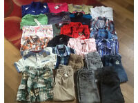 Age 5-6 boys clothing bundle