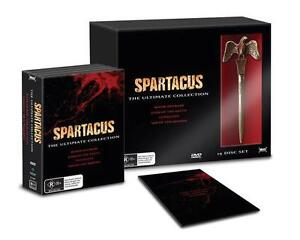 SPARTACUS The Ultimate Collection = NEW R4 DVD