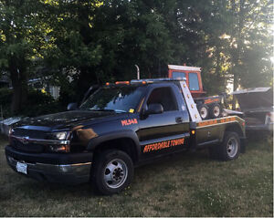 2004 CHEVY 3500 TOW TRUCK