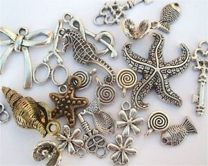 Decorative beads, buttons, jewellery making supplies, etc.