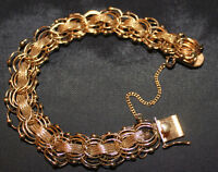 Woven gold bracelet missing