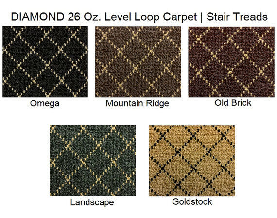 Ansley Park Dog Assist Carpet Stair Treads 2 Sizes And 4 ...