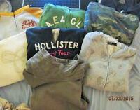 Brand Name Hoodies Lot!