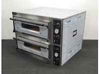 SPREAD THE COST OVER 6 MONTHS! NEW Foodsville 975mm 4+4 Stone Deck Pizza Ovens