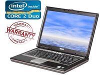 Windows 7 Dell Latitude D Laptop DVDRW 4Gb Ram 250GB Cheap 3 Month Warranty