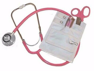 Pink Nurses Kit W Pink Scope Ems Pink Shears Pink Penpink Penlight White Kit
