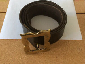 "Dolce & Gabbana ""Musketeer"" Collection Men's Leather Belt"