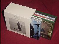 CAMEL ANDY LATIMER 13 HDCD JAPANESE MINI LP COLLECTORS COLOUR MEGA RARE BOXSET, PROG ROCK.