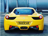 RA63CAR - RACE CAR - Private Number Plate- gtr van r32 m3 bmw rs4 gti audi vw amg m sport golf a3