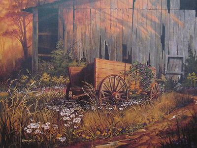 ABANDONED BEAUTY, Michael Humphries,12x16 Art print, 100 prints for $ 50.00 new