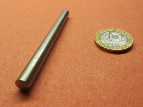 "Stainless Steel Taper Pin No 5 .289 Large End x .227 Small End x 3.00"" L, 3 Pcs"