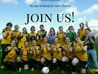 WANTED: Womens/ladies football 11-a-side all positions