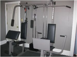 Weider Pro Power Stack 550 Home Gym System